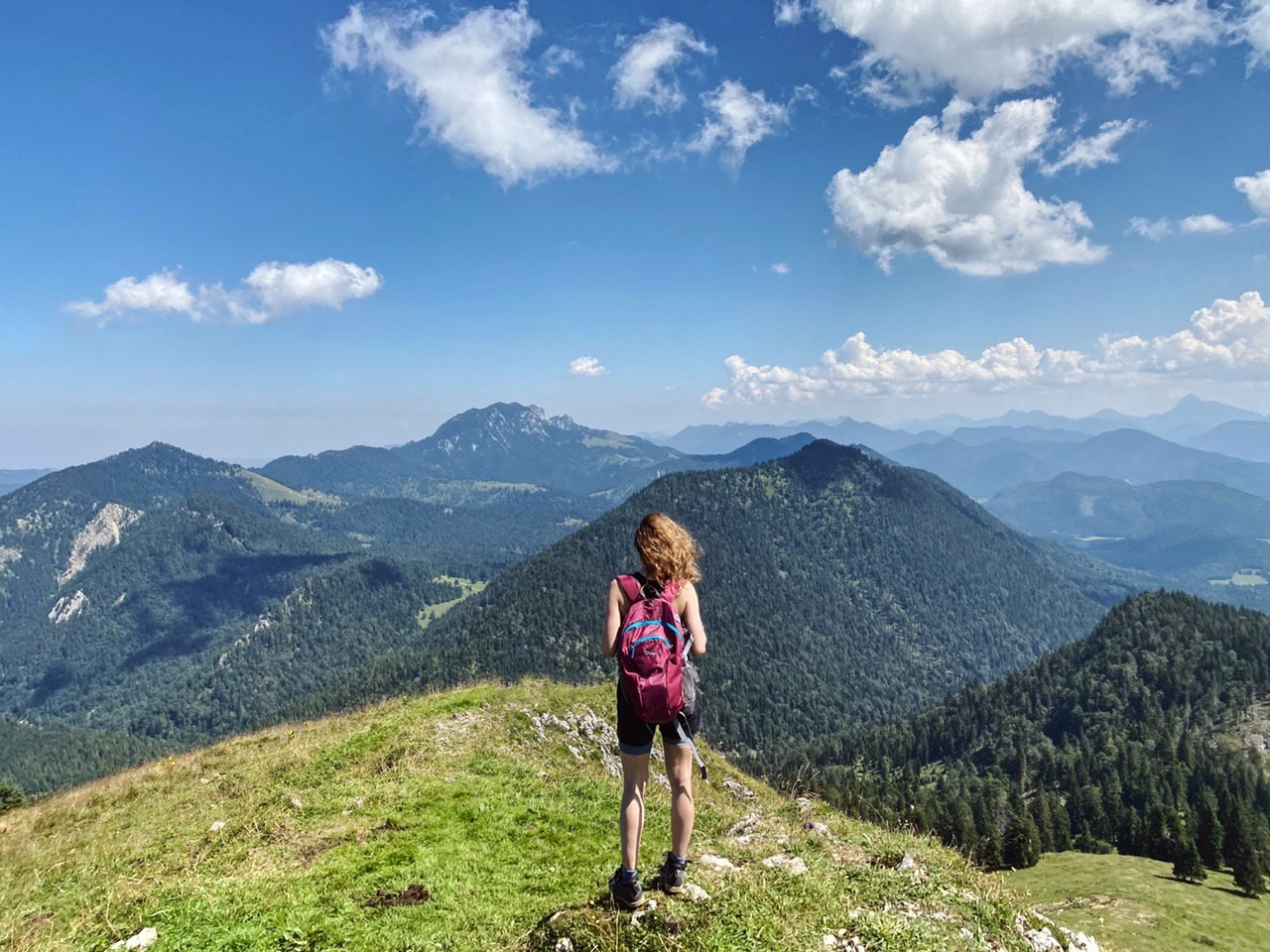 Veronika loves hiking, especially in the Alps